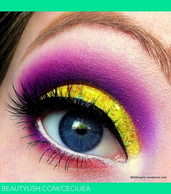 80's punch: Make Up, Eye Makeup, Sweets, Makeup Looks, Yellow, Beauty, Eyes
