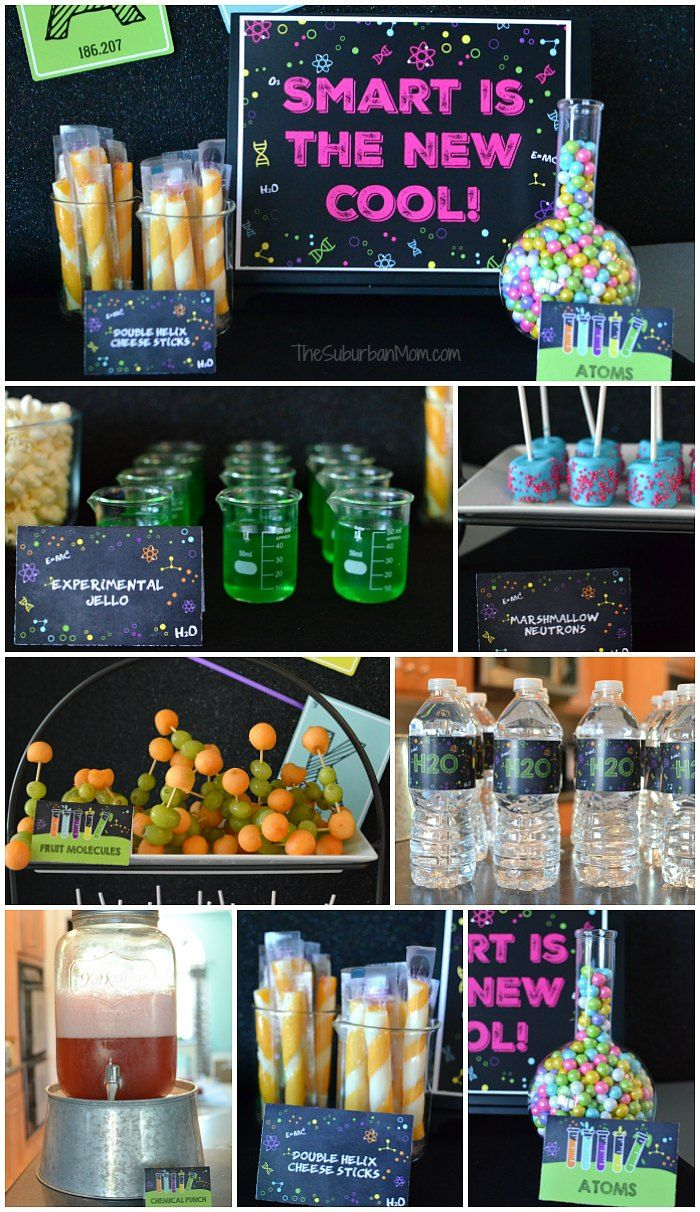 Science Party Food Ideas