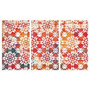 Set of 3 Moroccan Tile Canvas Prints