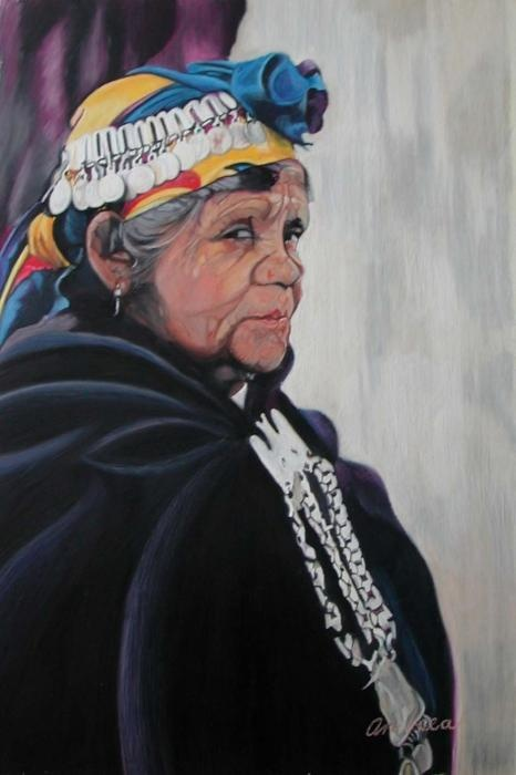Mapuche woman (Chile)