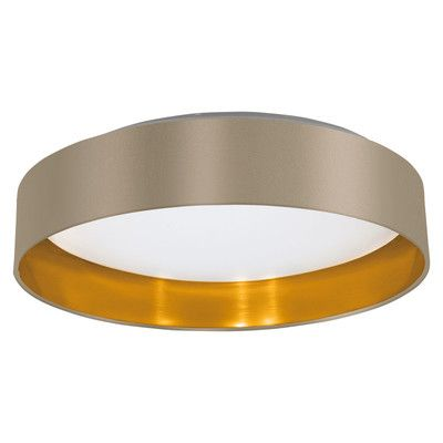 Found it at Wayfair.co.uk - Maserlo 1 Light Flush Ceiling Light