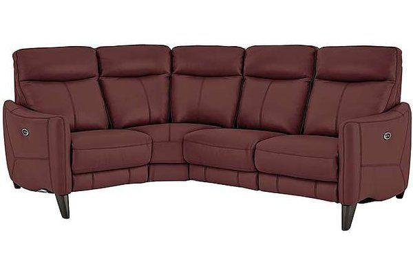 World Of Leather Elixir Power Recliner Corner Sofa Di 2020