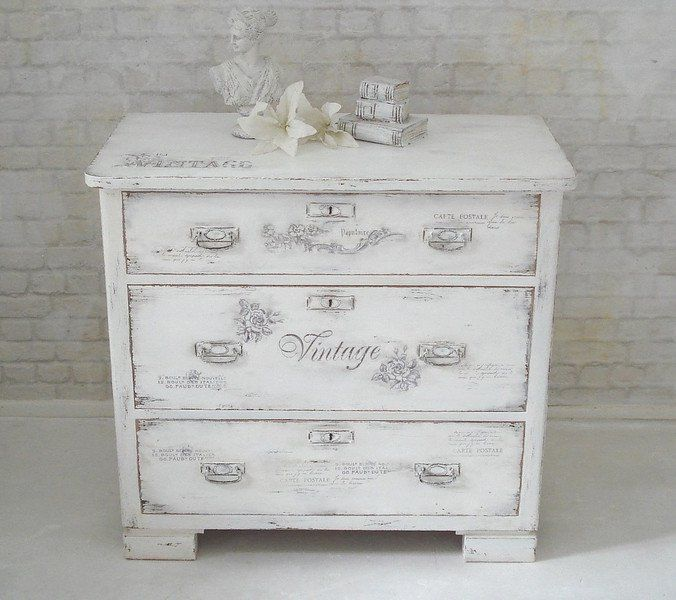 25+ best ideas about Kommode shabby on Pinterest  Kommode  -> Vintage Kommode Rosa