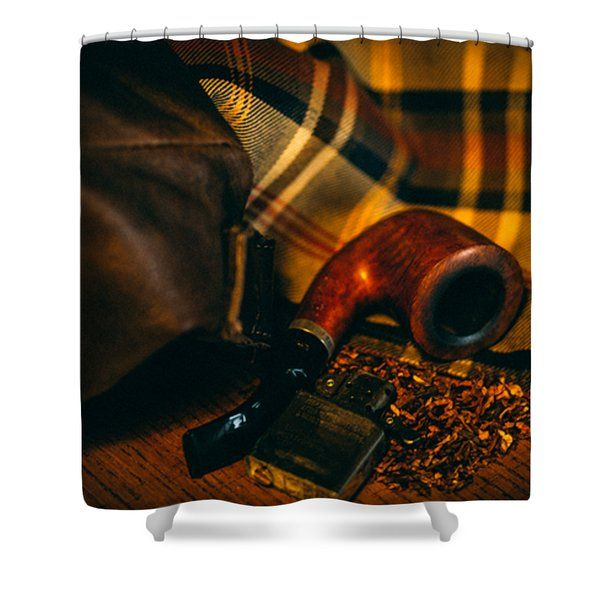 Winter In The Air Shower Curtain by Cesare Bargiggia