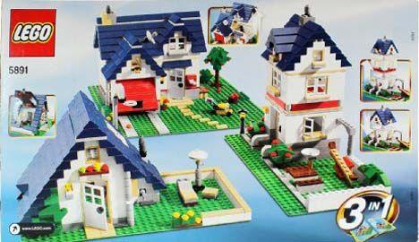 Lego rumah tingkat