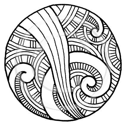 1917 Maori Pattern