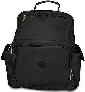 Pangea Toronto Maple Leafs Premium Leather Backpack - Shop.Canada.NHL.com