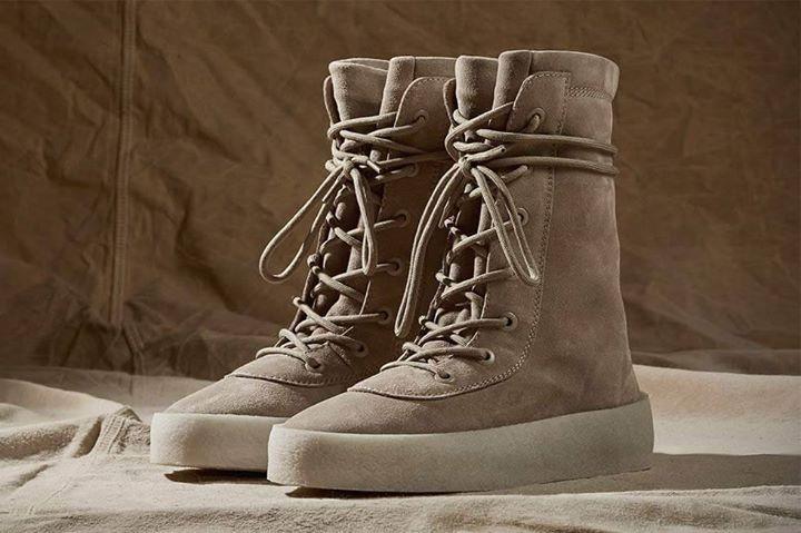 Yeezy Season 2 Crepe Boot.