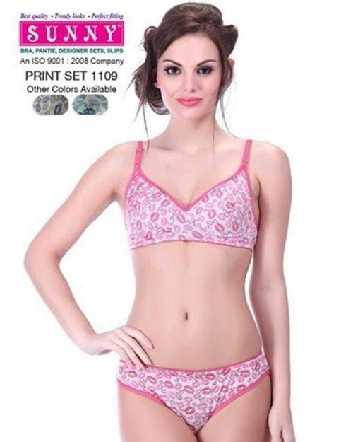 a1e4cc2882 Sunny Print Set 1109 - Bra Panty Set - Bra Panty Sets - diKHAWA Online  Shopping in Pakistan