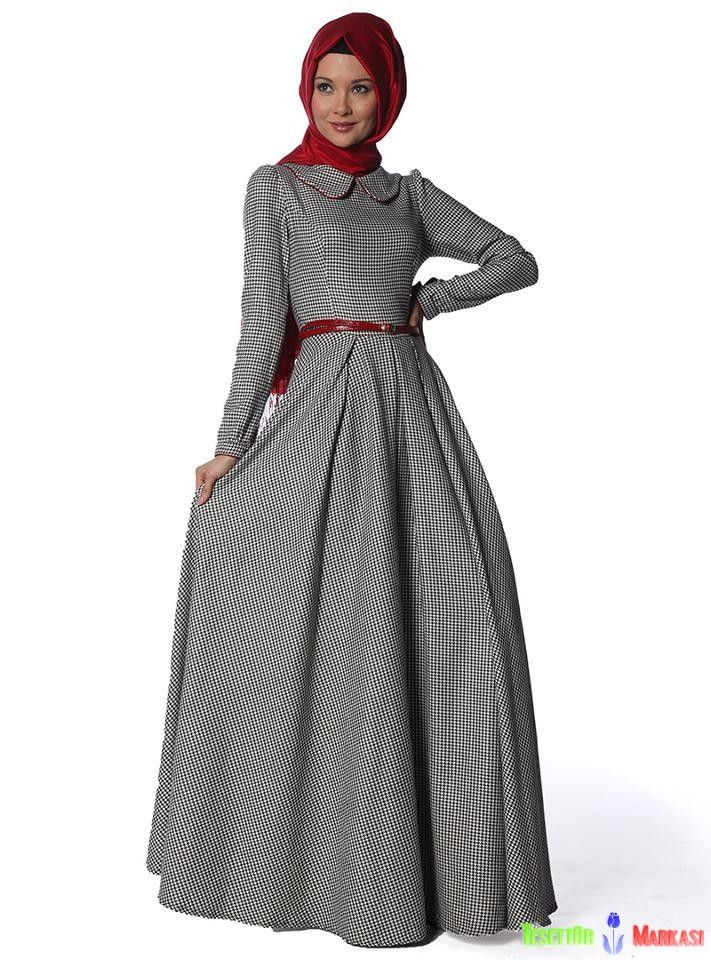 chic hijab dress