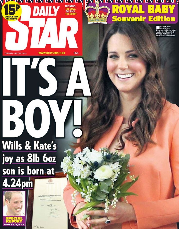 Royal baby news in front pages: Kate Middleton's newborn son makes headlines around the world