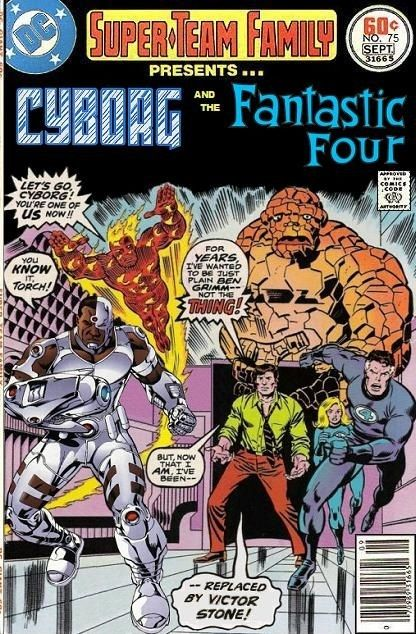 Super-Team Family: The Lost Issues!: Cyborg and the Fantastic Four
