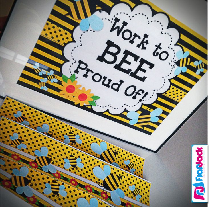 Lots of cute ideas and resources for decorating with a fun BEE classroom theme.