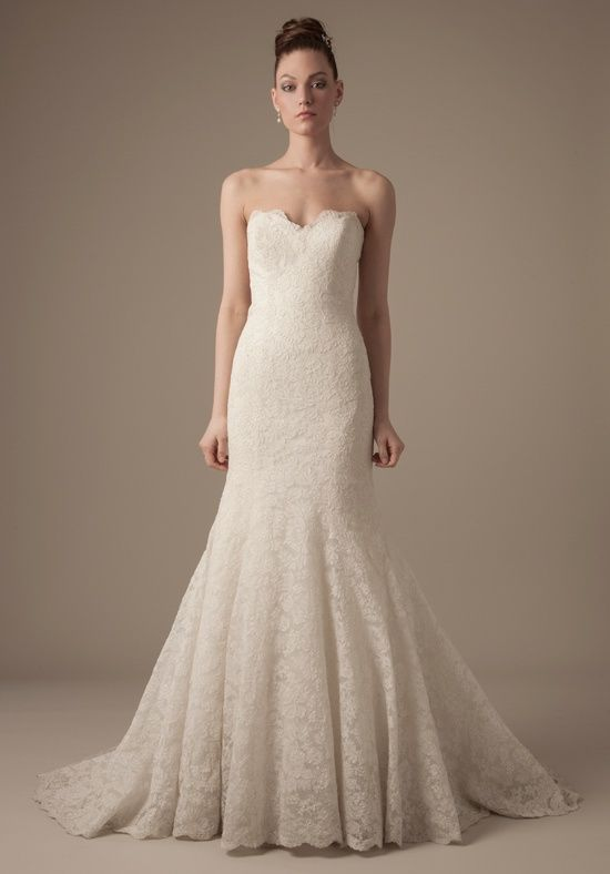 Dennis Basso #Wedding #Dresses. To see more about collection: http://www.modwedding.com/2013/09/12/dresses-style-dennis-basso-bridal-collection/
