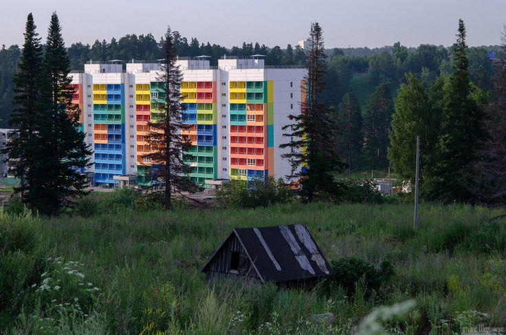Tomsk, Siberia by Tanya Shershneva