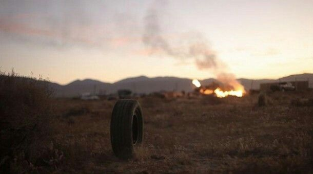 "Rubber tire (Rubber 2010) : How can a killer tire make a horror movie? If you are the tire from, ""Rubber"" than anything is possible. Rubber is a tire that comes alive in the desert and goes on a killing spree with it's telepathic powers as a crowd of people watch through their binoculars as if they are watching a live movie. This was a weird, but interesting movie."