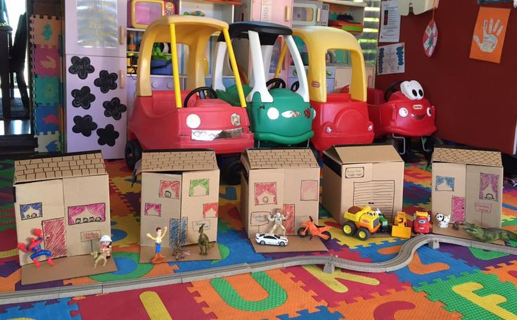 Building a box village