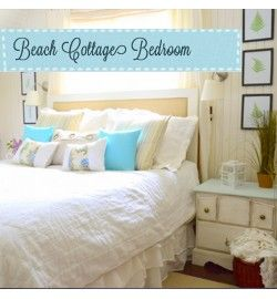 beach cottage bedrooms | Beach Cottage Bedroom {Reveal!}