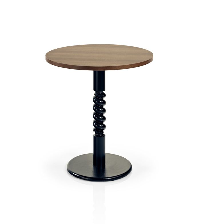 Alvor Mm541 Square Timber Dining Table Solid Timber Column With