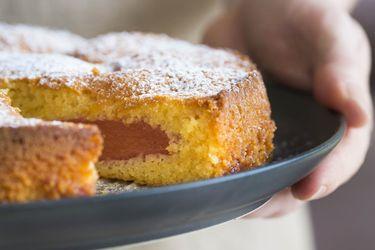 Fleurieu quince and almond cake
