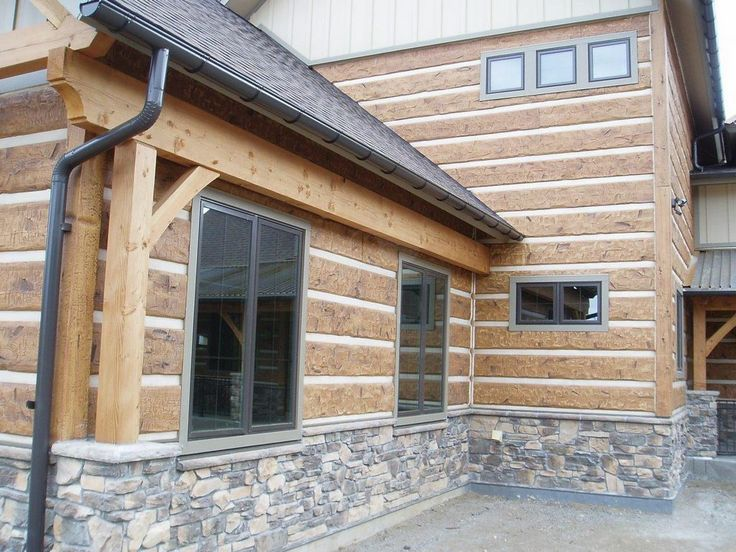 Pin By Everlog Systems On Everlog Concrete Log Siding
