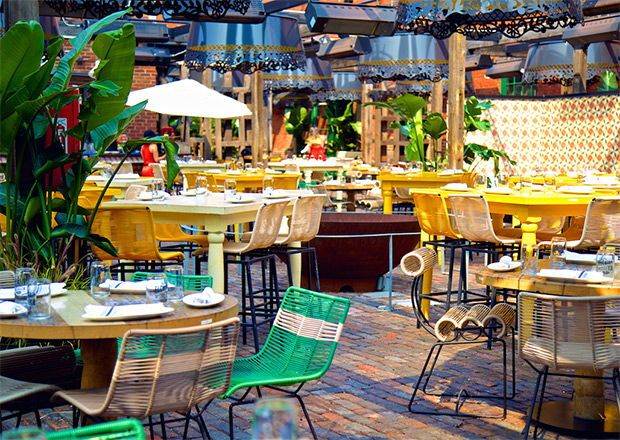 15 Beautiful Restaurant Patios To Inspire Your Own Restaurant Patio Colorful Patio Outdoor Restaurant