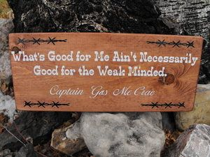Words of wisdom from the western ranger himself.  Would you hang this up in your house?  See more of Gus McCrae in Larry McMurtry's LONESOME DOVE on Hulu now!    http://www.hulu.com/lonesome-dove