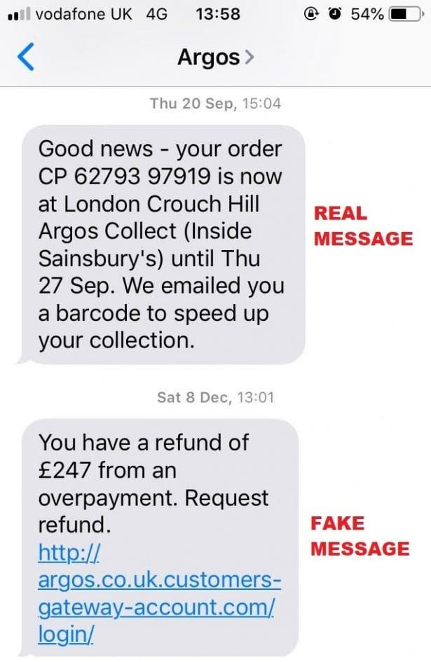 Most Common Mobile Scams Including Fake Dvla And Hmrc Texts
