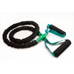 Slastix Toner Resistance Tubing - Slastix technology incorporates a Safety Sleeve that encloses latex tubing and protects it from ultraviolet light, body oils, and nicks and cuts from daily use. Sleeve also provides safety stretch limitations when doing resistance training. Available in 5 resistance levels. from $11.95
