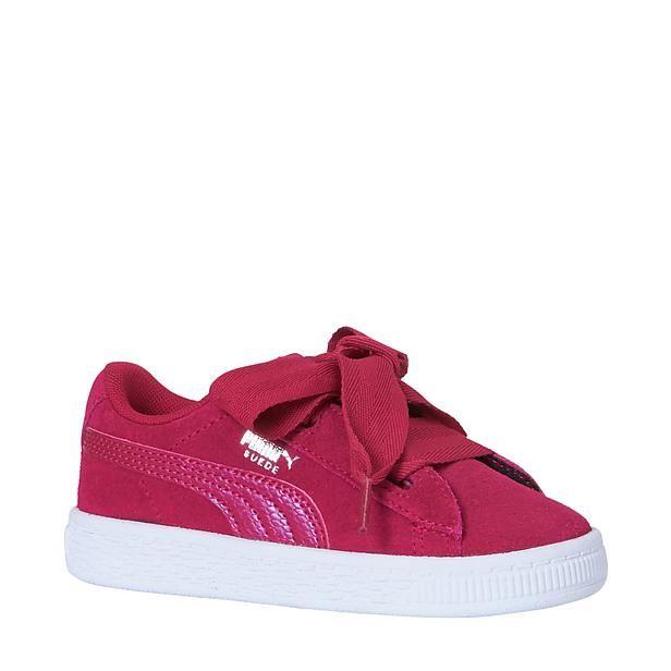 Puma Suede Heart sneakers #roze #meisjes #Puma #Suedeheart #wehkamp # sneakers