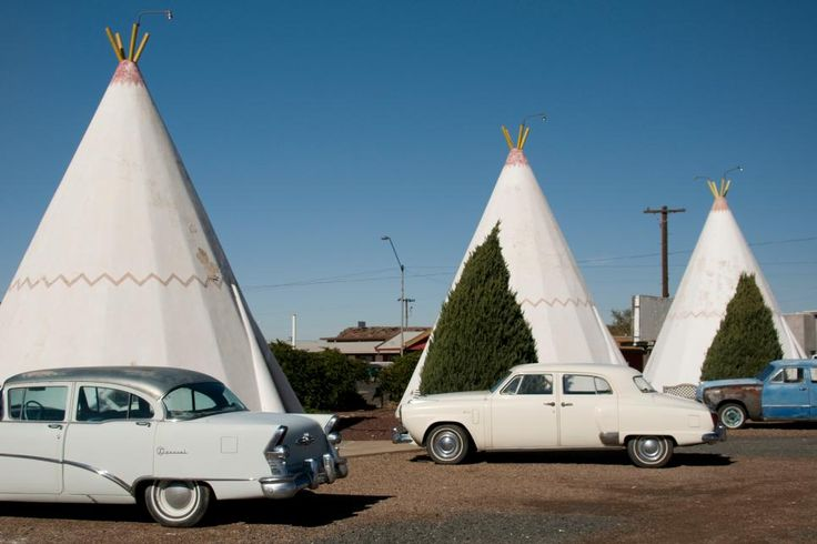 In the late 1930s, Chester E. Lewis had several motels on Route 66 and decided he wanted to add a wigwam village. An architect, Frank Redford, who patented the wigwam villages design, struck a deal that allowed Lewis to build one of his own in Holbrook, Arizona. Today the Wigwam Village Motel #6 is one of the few such motels left.