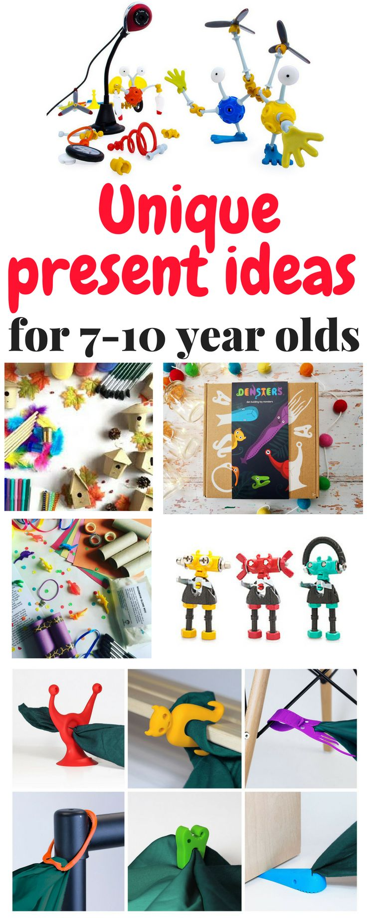 unique present ideas for 7-10 year olds