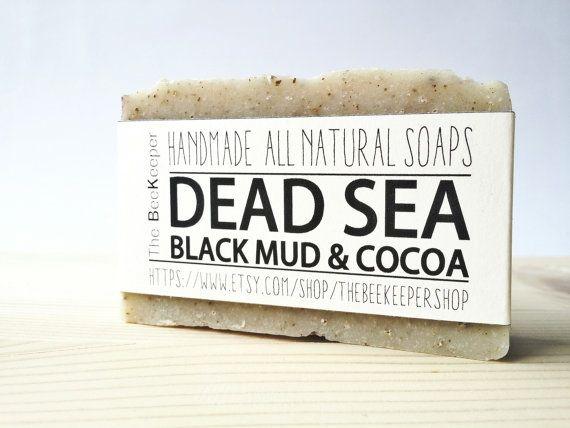 Dead Sea Mud and Cocoa Soap https://www.etsy.com/listing/225412017/dead-sea-mud-soap-cocoa-soap-detox-soap
