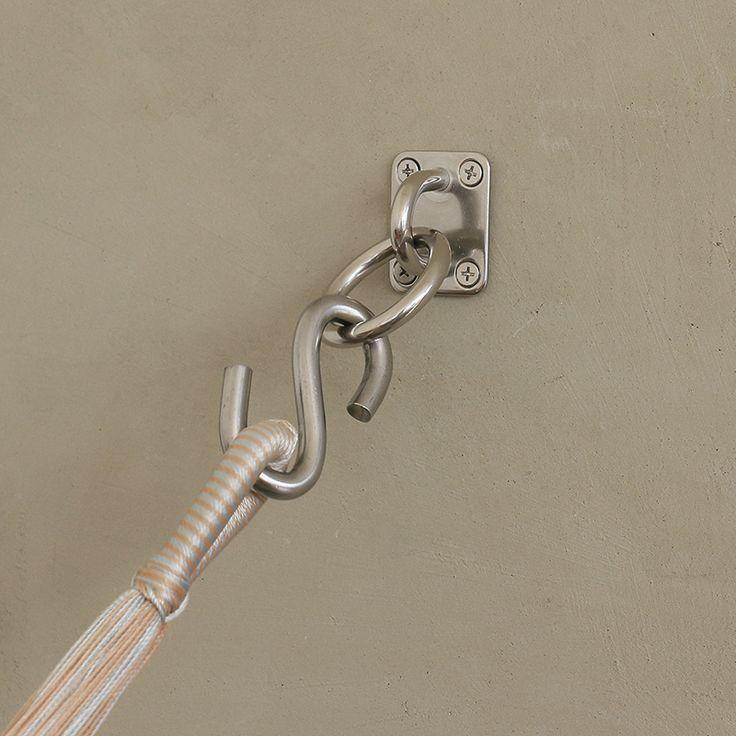 お部屋の中で使用される方も増えてきているハンモック。今回はお部屋の中への設置方法をご紹介!