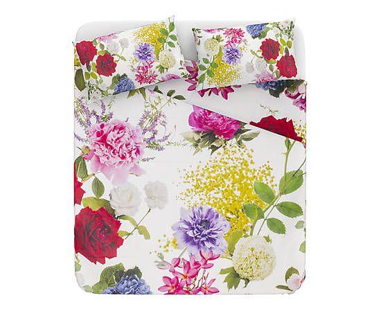 Parure letto matr. in cotone percalle Batik 99e su Dalani