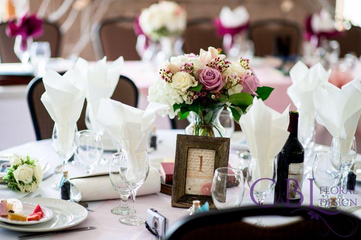 CBL Floral Design, Barrie, ON - Wedding Party Florals/Bridal Party Bouquets/ Wedding Flowers/ Bridal Bouquets/ Centrepieces - #weddingbouquets #bridalbouquets #weddingpartyflorals #weddingflowers #handtiedbouquets #cblfloraldesign #weddingphotographer #floraldesigner www.cblfloraldesign.ca Wedding Centerpieces