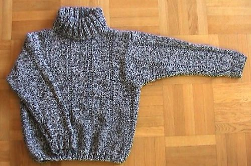 Modell 116/0 Rollkragenpullover pattern by Junghans-Wolle