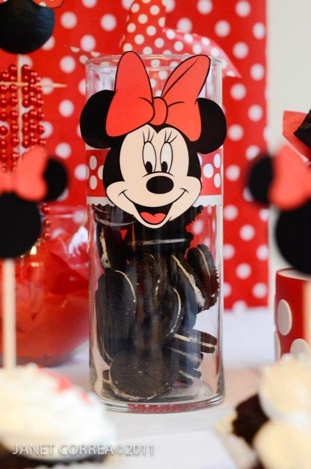 11 best images about minnie mouse decoraci n de fiestas for Decoracion minnie mouse