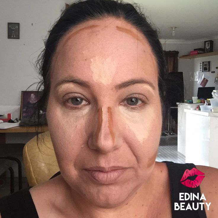 Contouring using Younique concealers