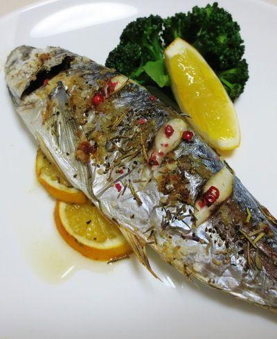 鯵(あじ)丸ごとハーブ焼き by syu♪さん   レシピブログ - 料理 ...