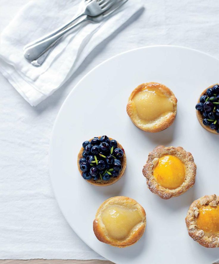 Fruit tartlets by Philippa Sibley from PS Desserts   Cooked
