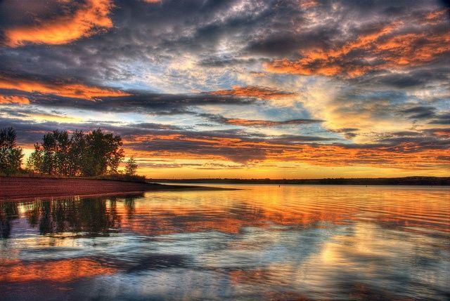 Sunrise Chatfield Lake, Littleton, Colorado