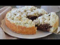 TORTA 5 MINUTI COCCO E NUTELLA ricetta dolce facilissima