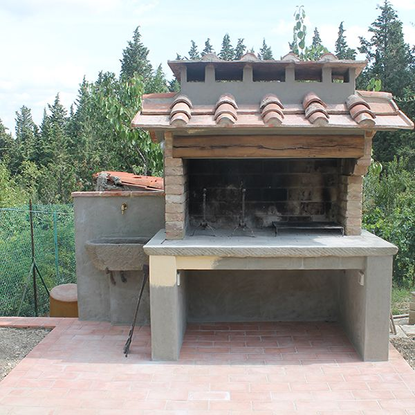 Floor Barbecue in Tuscany #barbecue #tuscany #floor