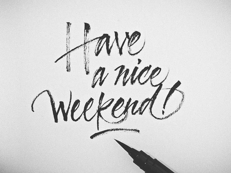 Have a nice #weekend! :)