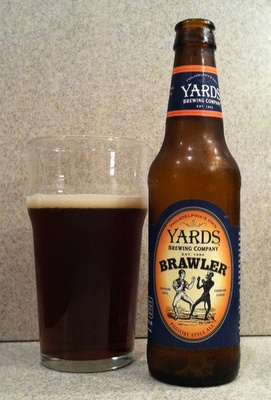 Yards Brawler Pugilist Style Ale.....To kick off Philly Beer Week with this English Mild session ale to get the party started! #PhillyBeerWeek