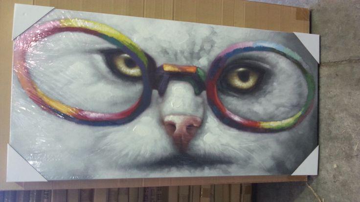 art - smart Cat