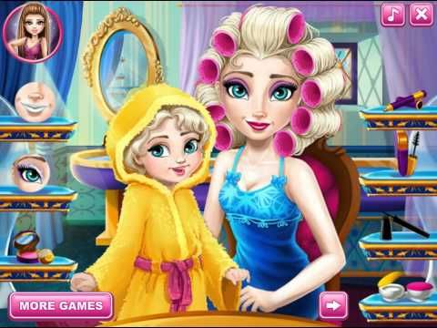Frozen Games For Girls Baby And Elsa Frozen Fever Makeover