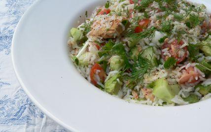 Recette - Salade de riz pour buffet froid | 750g