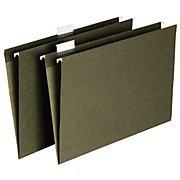 Staples® Hanging File Folders, Legal, 5 Tab, 25/Box